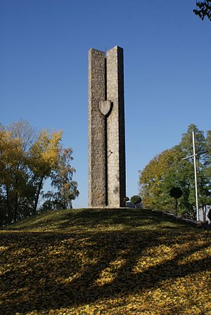 Battle of Płowce - Płowce memorial