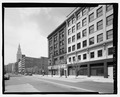 P. C. O'Brien Building, 801-813 Prospect Avenue, Cleveland, Cuyahoga County, OH HABS OH-2413-1.tif