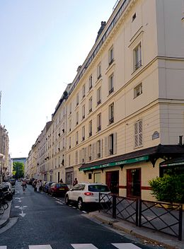 image illustrative de l'article Rue Dugommier (Paris)