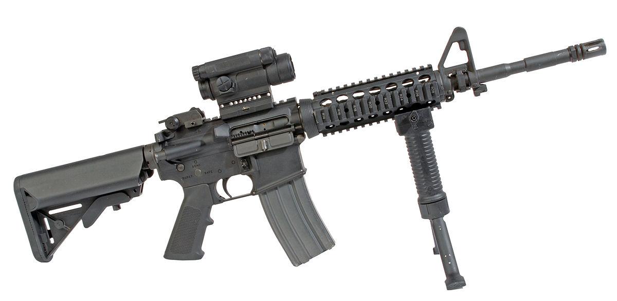Resultado de imagen para colt m4 carbine assault rifle