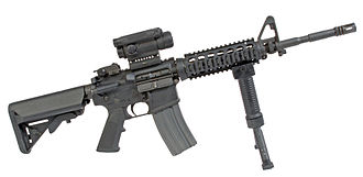 M4 carbine - Colt M4 Modular Weapon System Carbine with RAS, M68 CCO and a GPS-02 grip pod