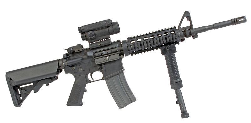 قوة أمن كوسوفو 800px-PEO_M4_Carbine_RAS_M68_CCO