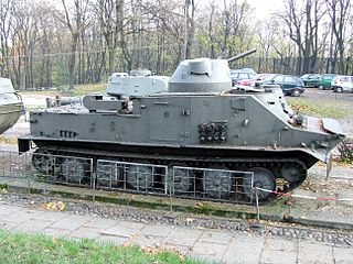 OT-62 TOPAS Type of Tracked Amphibious Armored Personnel Carrier