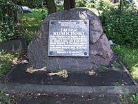 Obelisk ku czci Janusza Kusocińskiego, Fort Czerniaków