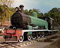 PRESERVED STEAM LOCOMOTIVE USED ON THE DEATH RAILWAY AT THE RIVER KWAI BRIDGE KANCHANBURI THAILAND JAN 2013 (8514836371).jpg