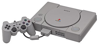 The original PlayStation became the most popular system of the fifth generation consoles, eventually selling over 100 million systems. PSX-Console-wController.jpg