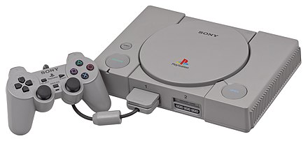 The Sony PlayStation. PSX-Console-wController.jpg