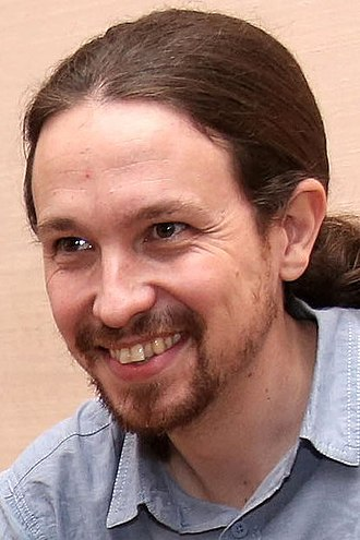 2016 Spanish general election - Image: Pablo Iglesias 2016b (cropped)