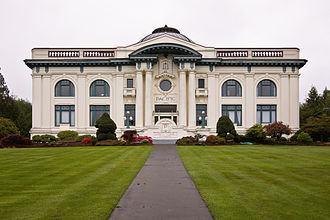 South Bend, Washington - Pacific County Courthouse, South Bend