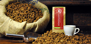 Dandelion coffee - Packaged dandelion root coffee
