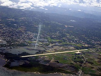 Pagadian Airport - An aerial view of the airport.
