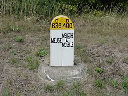 Pagny-sur-Meuse + Lay-Saint-Remy Borne limite Meuse - Meurthe-et-Moselle.JPG