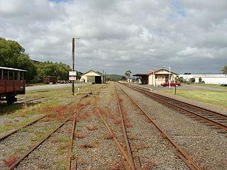 Pahiatua railway station railway station