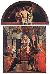 Santa Cristina al Tiverone Altarpiece