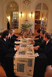 Palacio Taranco meeting