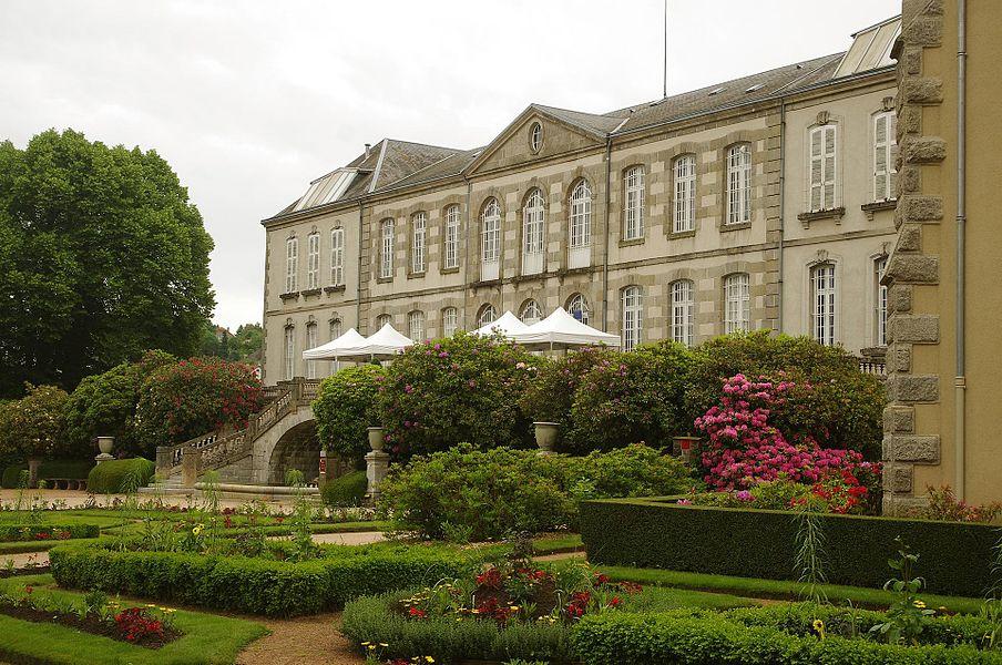 Guéret (Creuse), Palais de la Sénatorerie, Musée d'art et archéologie de Guéret