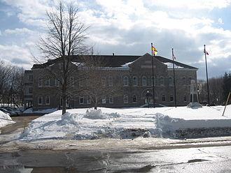 Bathurst, New Brunswick - The county courthouse at Bathurst.