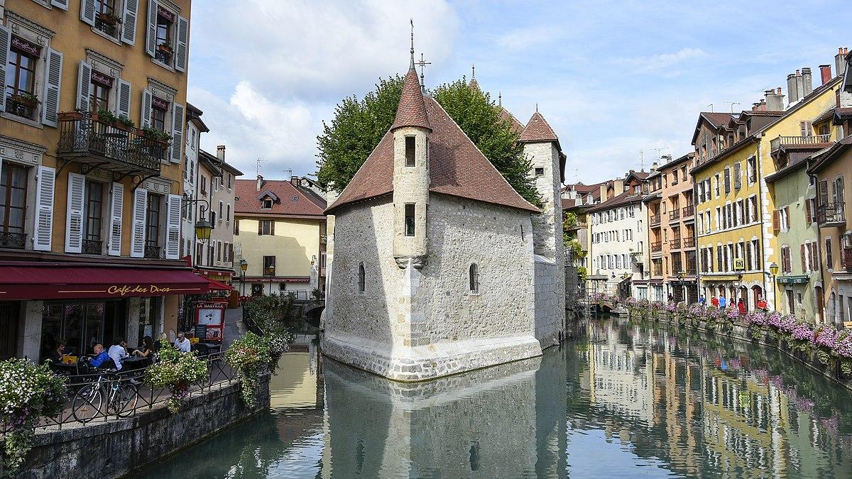 Annecy Quai Centre Ville