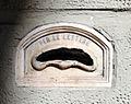 Palazzo Baldi delle Rose, via alfani, buca delle lettere.JPG