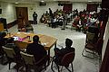 Panel Discussion - Collaboration with Academic Institutes for the Growth of Wikimedia Projects in Indian Languages - Bengali Wikipedia 10th Anniversary Celebration - Jadavpur University - Kolkata 2015-01-10 3383.JPG