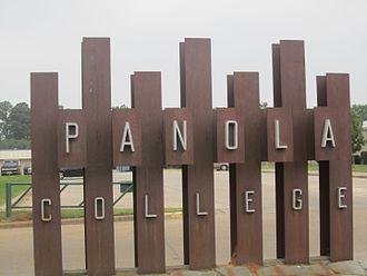 Panola College - Image: Panola College sign, Carthage, TX IMG 2933