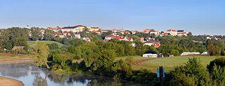 Łomża Place in Podlaskie, Poland