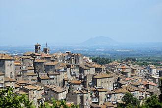 Caprarola - Image: Panorama of Caprarola