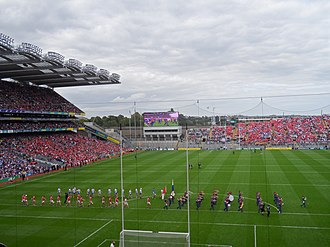 2017 All-Ireland Senior Hurling Championship - Pre-match parade at the Cork–Waterford All-Ireland semi-final (13 August 2017).