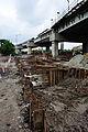 Parama-Park Circus Flyover & Underpass Under Construction - John Burdon Sanderson Haldane Avenue - Science City Area - Kolkata 2012-07-31 0566.JPG
