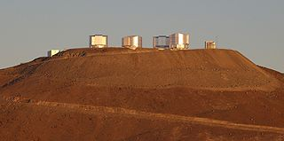 Paranal Observatory astronomical observatory in the Atacama Desert