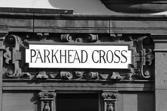 Parkhead - Parkhead Cross Sign