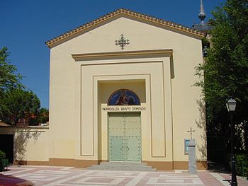 Parroquia de Santo Domingo en Humanes de Madrid