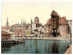Danzig , Für den Autor, siehe [Public domain], via Wikimedia Commons