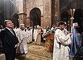 Participation of the President of Ukraine in the festive Christmas liturgy in Saint Sophia, Kiev 20.jpeg