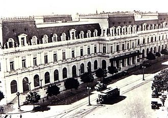 Dardo Rocha - The Dardo Rocha Building, a La Plata landmark named in its founder's honor.