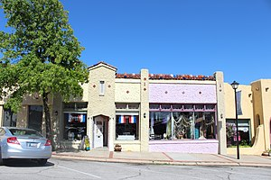 Paseo Arts District - A building in the district, 2014
