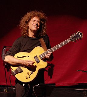 Pat Metheny American jazz guitarist and composer