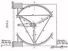 Patent drawing by Theophilus Van Kannel for a \