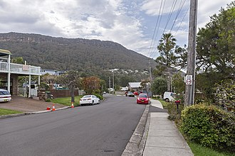 Coalcliff, New South Wales - Paterson Road in Coalcliff