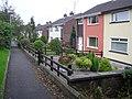 Pathway at McClay Park, Omagh - geograph.org.uk - 261875.jpg