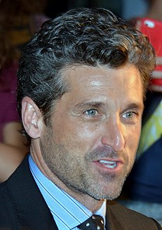 Patrick Dempsey American actor and racecar driver