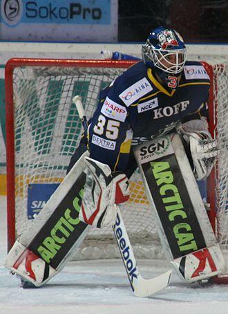 Patrick Galbraith (ice hockey) - Galbraith playing for Espoo Blues