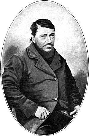 Transvaal Civil War - Image: Paul Kruger c 1865