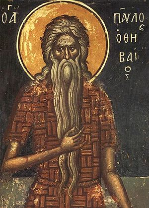 St. Paul of Thebes (ortodox icon)