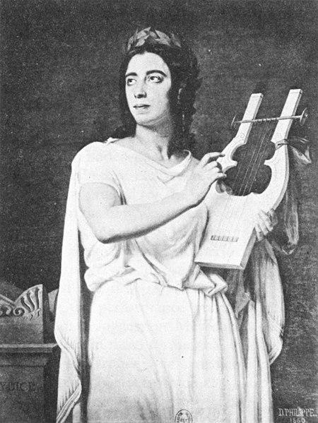 Pauline Viardot (1821 - 1910) 450px-Pauline_Viardot_as_Orph%C3%A9e_%281860%29_-_Holoman_p496