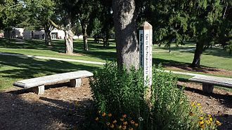 Ripon College (Wisconsin) - Ripon College Peace Pole.