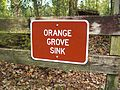 Peacock Springs SP Orange Grove Sink sign01.jpg