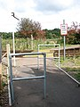 Pedestrian crossing at Haddiscoe Station - geograph.org.uk - 1483027.jpg