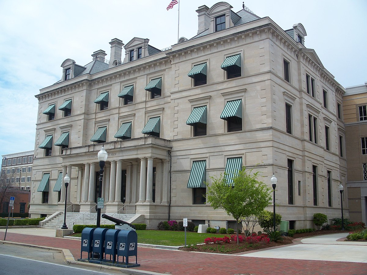 United States Customs House And Post Office Pensacola Florida - Us post office bradenton map