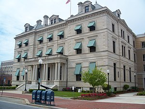United States Customs House and Post Office (Pensacola, Florida) - Escambia County Courthouse
